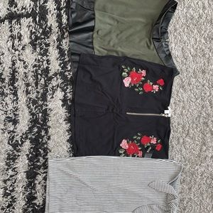 Dresses & Skirts - 3 brand new skirts. (Size S-M)